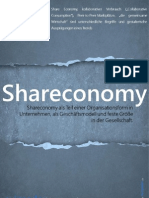 [DE] Shareconomy als Teil einer Organisationsform in Unternehmen, als Geschäftsmodell und feste Größe in der Gesellschaft.