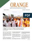 The Orange Newsletter Volume 2 Number 3. 17 January 2013
