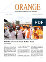 The Orange Newsletter Volume 2 Number 3. 17 January 2013