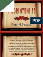 1 Corinthians13 Romanian