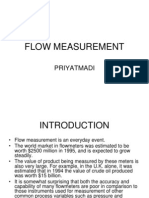 flow measurement ppt