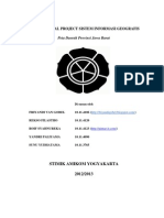 Makalah Final Project Sistem Informasi Geografis