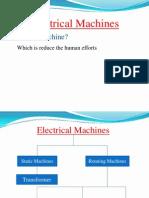 elctrical machine