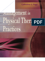 Management in Physical Therapy Practice