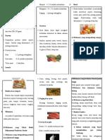 Leafleat Penatalaksanaan Diet Pada Pasien Stroke Iskemik