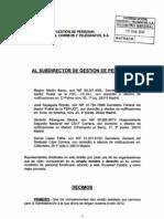 RECURSO ADMINISTRATIVO PAGA EXTRA NAVIDAD