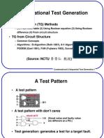 combinational circuit testing