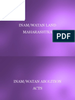 INAM/WATAN LAND MAHARASHTRA