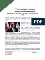 La Semana en Guatemala 2013/01/7-14