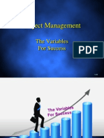 Variable for sucess
