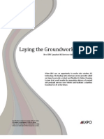 Laying the Groundwork for LTE