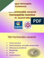 Női hormon zavarok kezelése