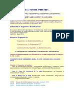 DIAGNÓSTICO ENFERMERO NIC - NOC