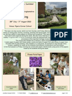 Papermaking at Missenden Abbey 2012