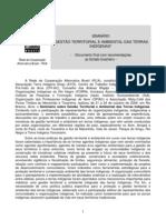 Documento público da RCA sobre gestão territorial e ambiental nas TIs