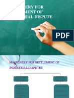 Settlement of dispute final