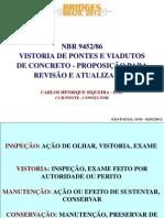 NBR 9452 86 - Vistoria de pontes e viadutos (proposta para revisão e atualização)