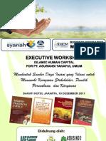 Workshop Islamic Human Capital