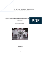Statul si Administratia Publica in Societatea Moderna