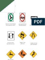rambu dalam bahasa inggris road sign