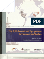Moenig U. The Evolution of Kicking Techniques in Taekwondo. 15. Proceedings of The 3rd International Symposium for Taekwondo Studies. Kyunghee University, Gyeongju, Republic of Korea, April 29-30. 2011;13-26.