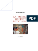 (Etudes Traditionnelles) - La Science Occulte Egyptienne Jean-Louis Bernard