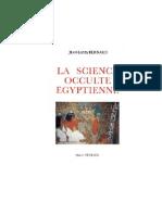 (Etudes Traditionnelles) - La Science Occulte Egyptienne Jean-Louis Bernard