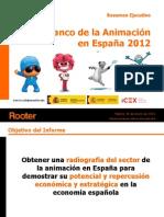 Libro blanco de la animación española (Resumen ejecutivo)