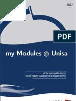 UNISA My Modules 2012