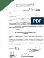 Decreto 142 2011
