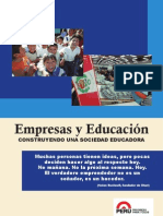 Cartilla Empresas y Educación. Construyendo una Sociedad Educadora