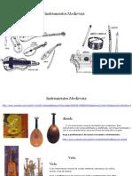 instrumentos medievais