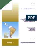 El proceso presupuestario argentino