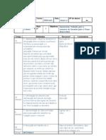 Planejamento - inicio das aulas - PLH