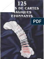 125 Tours de Magie avec les Cartes