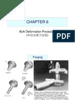 Bulk Deformation Processes - Manufacturing