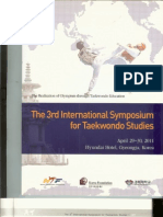 "Ha P. Taekwondo Poomsae and the Wonhyo's Philosophy of ""Ilhyo"" (Ever Present One).  Proceedings of The 3rd International Symposium for Taekwondo Studies. Kyunghee University, Gyeongju, Republic of Korea, April 29-30. 2011;27-32."