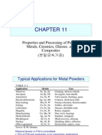 Properties and Processing of Powder