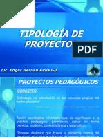 Tipología de proyectos