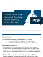 DCPS Lottery Guide 2013