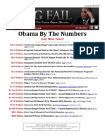 OBAMA BY THE NUMBERS~~FOUR MORE YEARS