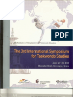 Song HS. The Meaning and Classification of the Term 'Taekwondo Spirit'.  Proceedings of The 3rd International Symposium for Taekwondo Studies. Kyunghee University, Gyeongju, Republic of Korea, April 29-30. 2011;27-38.