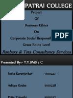 Csr-ranbaxy & Tcs