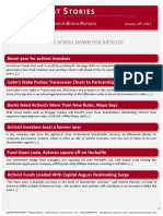 Top Activist Stories - 3 - A Review of Financial Activism by Geneva Partners