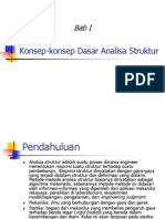 konsep dasar analisa struktur