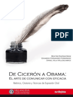 De Cicerón a Obama