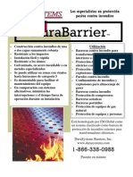 Dura Barrier Spanish Brochure