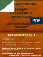 Trombocitopeni