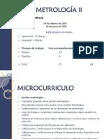 0. Presentación Metrologia II
