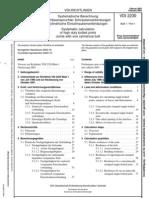 VDI Richtlinie 2230 - 2003
